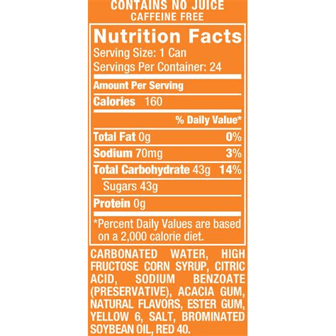 weight management oatmeal nutrition facts orange crush can nutrition facts nutrition ftempo