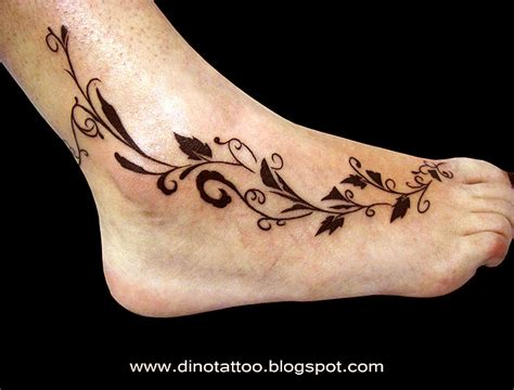 vine ankle tattoo designs 69 ankle tattoos