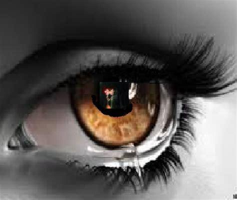 imagenes de ojos llorando para facebook ojo llorando por thomarie by fandethomarie on deviantart