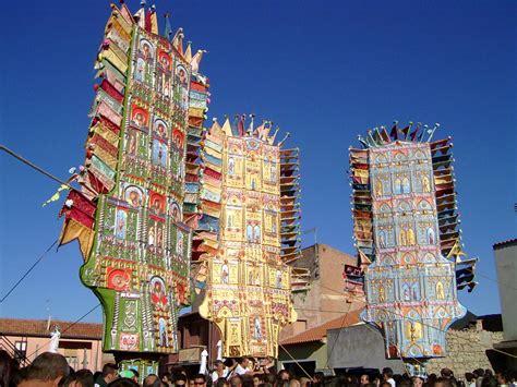 candelieri di nulvi nulvi sardegnaturismo sito ufficiale turismo della