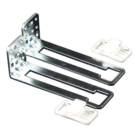 Aluminum Drawer Slides by Prime Line 17 3 4 In White Bottom Mount Drawer Slides Set