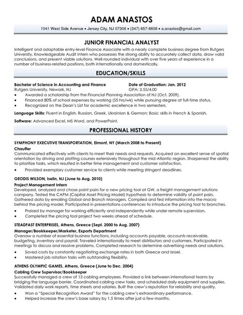 cv format download new graduate sle new graduate resume exles resume sles for