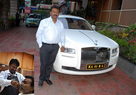 who owns rolls royce in india this indian barber owns 100 luxury cars and travels