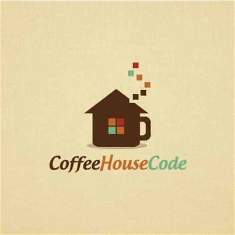 coffee house code logo design gallery inspiration logomix