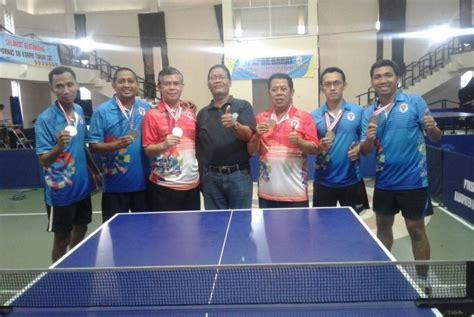 Meja Tenis Meja Jogja tim tenis meja kemenpora raih medali emas di yogyakarta