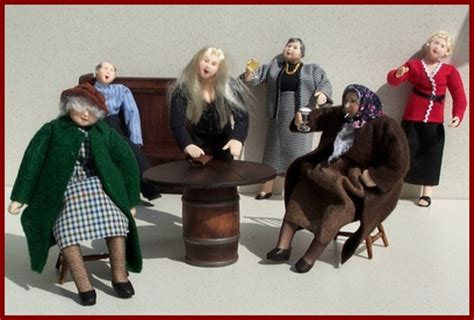 dolls house characters miniature figures and dolls for the dolls house