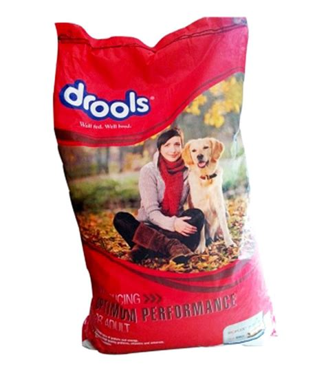 Produk Brand Canine Selection 20kg drools optimum performance food 20kg buy drools optimum performance food