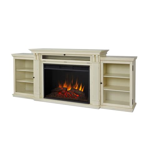 real fireplace tv stand real tracey grand 84 in electric fireplace tv stand