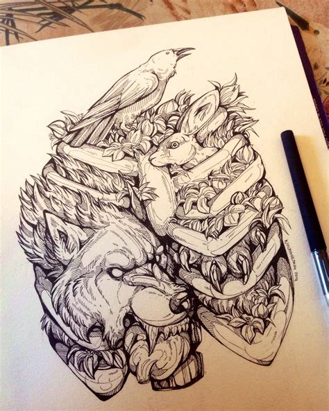 designs and drawings favourites by designoftheundead on