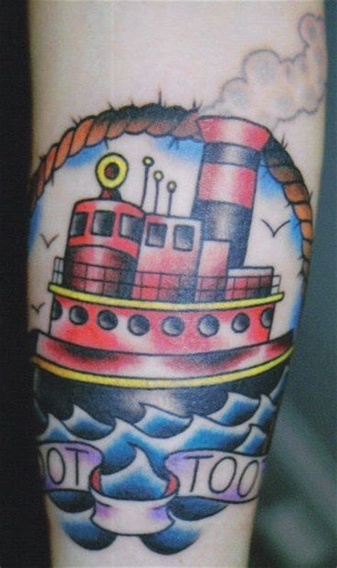 tugboat tattoo 63 best images about tattoos by chris stuart on