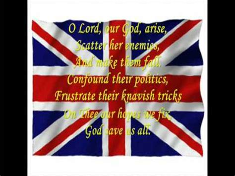 testo god save the god save the with lyrics