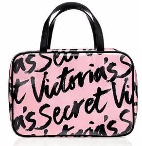 Secret Cosmetic Pouch 0024 s secret signature pink travel cosmetic organizer makeup bag nwt ebay