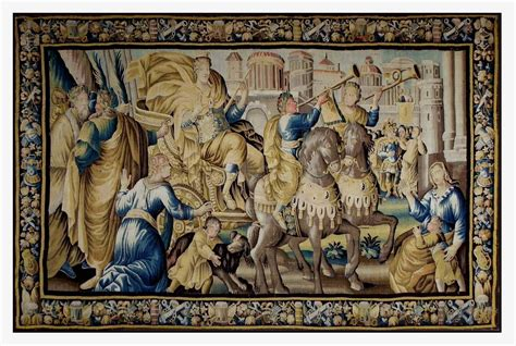 Tapisserie Bébé by Tapestry Of Felletin The Victory Of Entering Ba