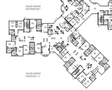nursing home layout design parker at monroe parker life