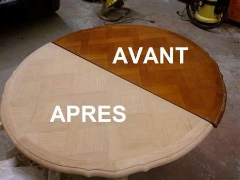 Vernir Une Table En Bois Brut by R 233 Nover Une Table En Bois Relooker Meubles