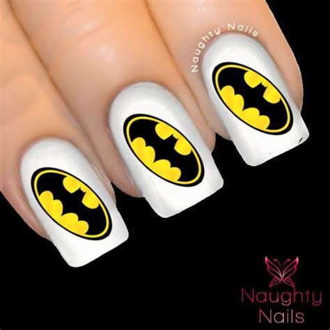 batman tattoo curacao batman logo superhero nail water transfer decal sticker