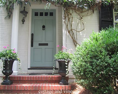 Wythe Blue Front Door Nashville Color Expert Announces 2012 Color Of The Year Wythe Blue The Decorologist