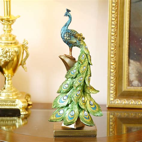 silk peacock home decor online buy wholesale artificial peacock birds from china