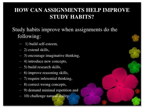 research paper about study habits assignment help review h g collected novels