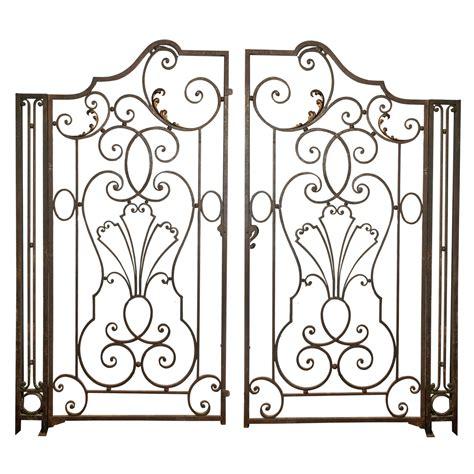 wrought iron garden gate garden wrought iron gate french
