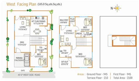 house plan luxury vastu house plans for west facing road west facing vastu house plans
