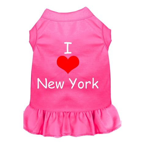 iheart dogs mirage i new york screen print dress pet care