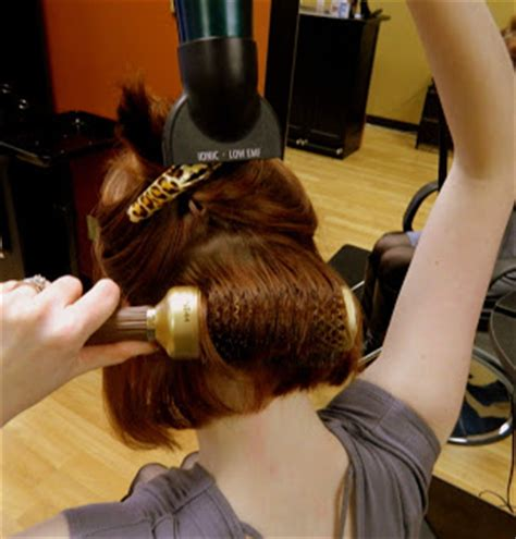 how to section your hair for blow drying great hair days how to blow drying with a round brush
