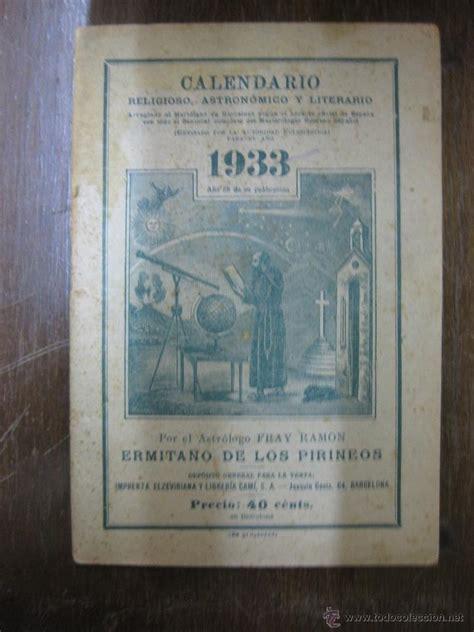 Calendario Religioso Calendario Religioso Astronomico Y Literario Comprar