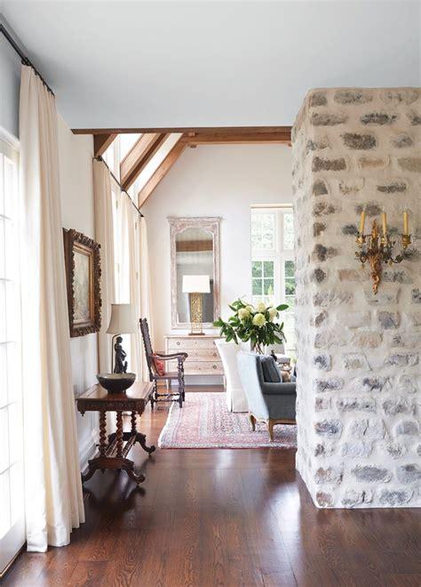 antique remix home decor styles stone fireplace
