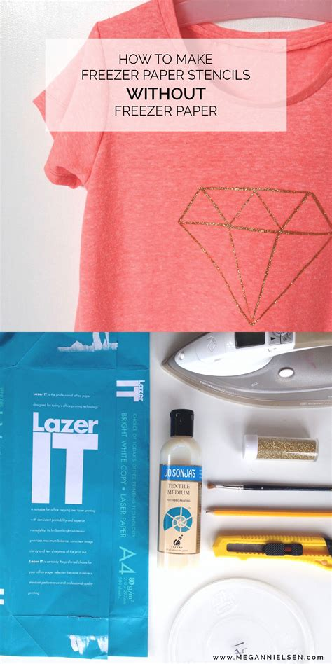 How To Make A Stencil Without Transfer Paper - tutorial how to make stencils without freezer paper