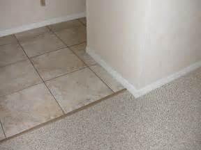Tile To Carpet Threshold Strips Carpet To Tile Transition Roselawnlutheran