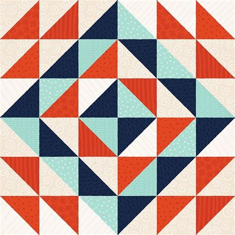Triangle Patchwork Quilt Patterns - 209 best half square triangle quilts images on