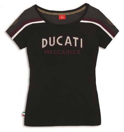 Kaos T Shirt Ducati Italiano ducati meccanica t shirt shirt black