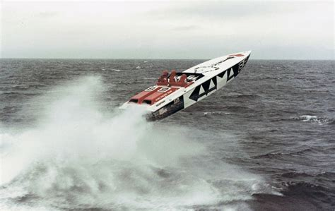 scarab boats offshore betty cook kaama scarab jump offshore powerboats