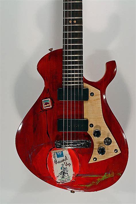 preowned malinoski guitars howlin moon  rebel guitars