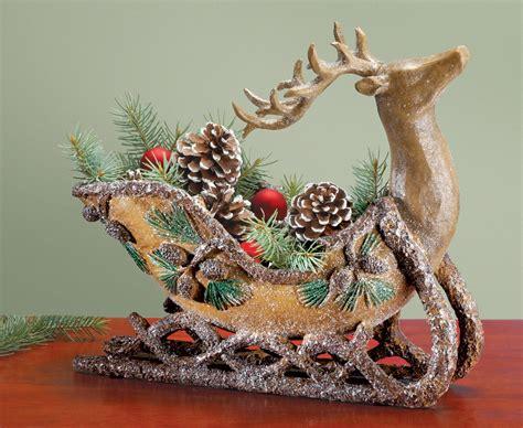 christmas reindeer decorations reindeer chirstmas decor