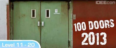 100 doors escape level 13 balloons code 100 doors 2013 l 246 sungen level 11 12 13 14 15 16 17