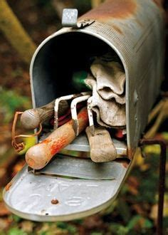 garden tools mail old mailbox on mail boxes country mailbox and letter boxes
