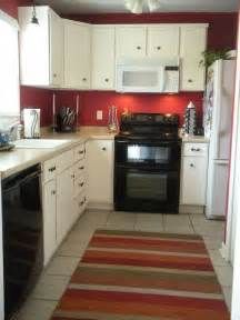 White And Red Kitchen Cabinets - red kitchen dream home pinterest