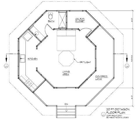 octagon floor plans 171 unique house plans
