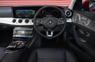 mercedes e class interior autocar