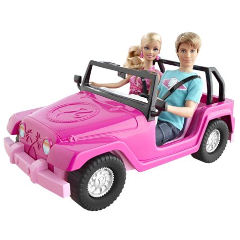 jeep barbie coches barbie sweetbie