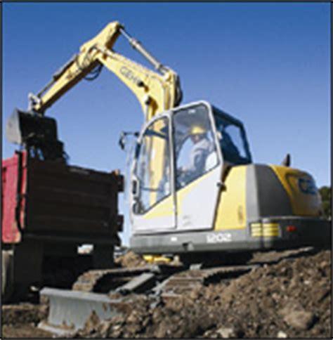 Benching 100 Pounds Gehl Compact Excavators Construction Equipment
