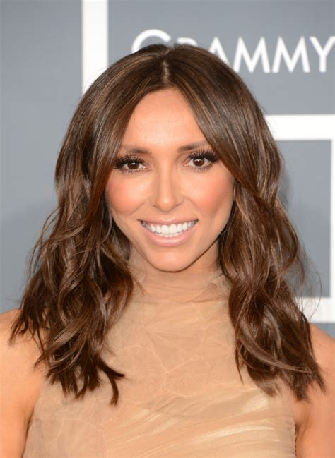 how to get guiliana rancics wavy bob hair giuliana rancic the grammy awards 2013 best beauty
