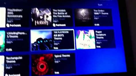 ps4 themes tutorial how to get themes on playstation 4 youtube