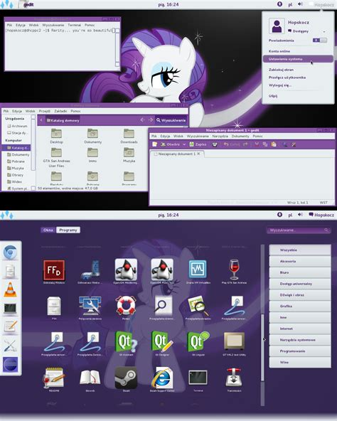 gnome login themes rarity gnome shell 3 2 theme by hopskocz on deviantart