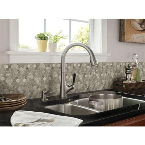 anatolia tile vanilla leaf mosaic ceramic wall tile shop anatolia tile silver creek polished