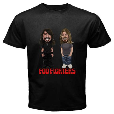 T Shirt Foo Fighters Zero X Store new foo fighters dave grohl rock band s black t shirt size s 3xl ebay