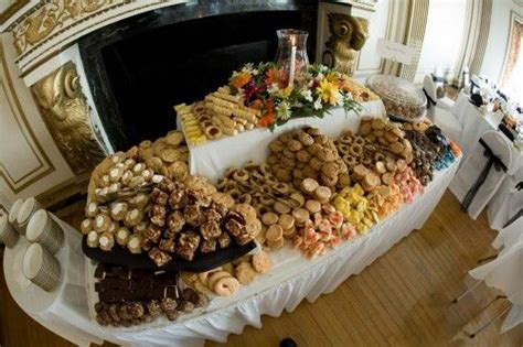 the cookie table diy reception ideas receptions