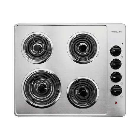 frigidaire electric cooktops frigidaire ffec2605ls 26 quot electric cooktop with coil elements